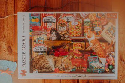 kocie słodkości puzzle z kotkami